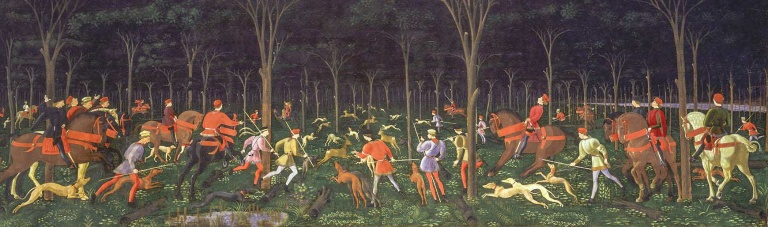 WAhuntintheforest uccello_edited