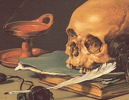 peter claez still life and a writing quill 1628_edited