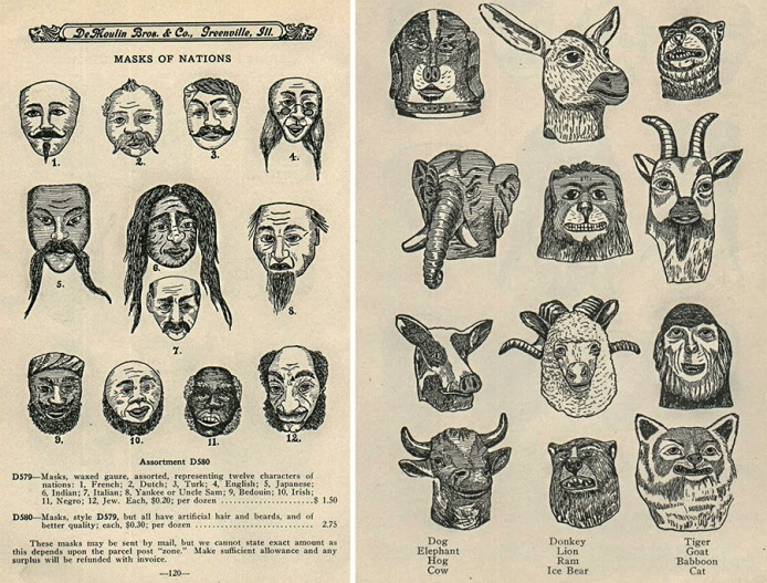 de Moulin brothers made masks and other novelties for fraternal orders. Collectors weekly_edited