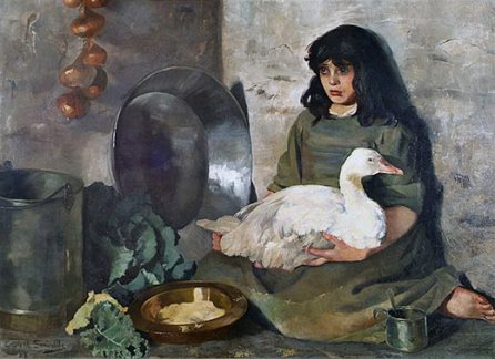 Edith-Somerville-The-Goose-Girl 1888